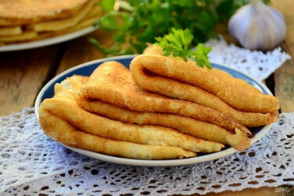 Тонкие картофельные блины (такого вы ещё не пробовали!)