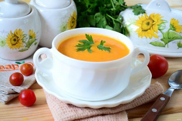 "Томатный суп-пюре ""Красная жара"""