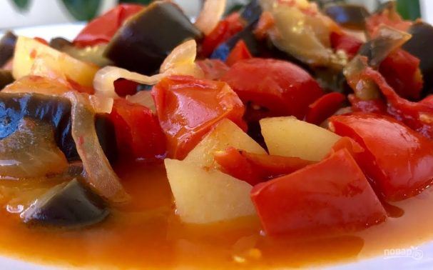 Ужин за 25 минут (овощной карри)