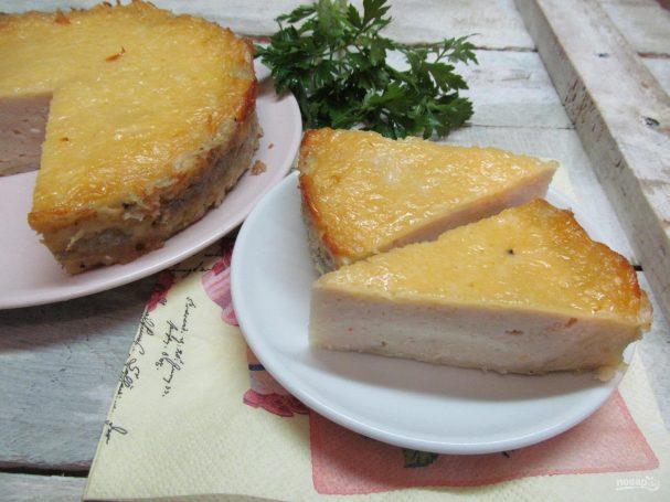Картофельная запеканка с индейкой