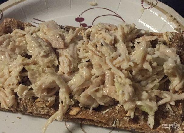 Вкусный куриный салат