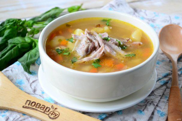 """Гороховый суп """"Осенний"""""""