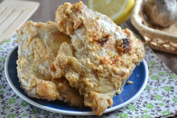 Куриные бедра под соусом