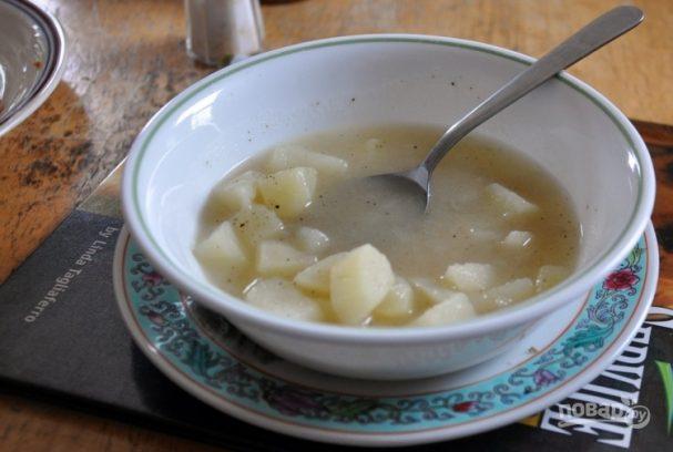 Простой картофельный суп