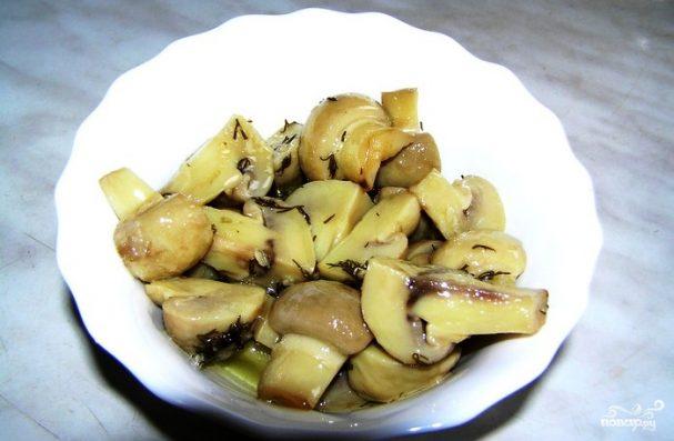 """Шампиньоны """"Закусочные"""" – кулинарный рецепт"""