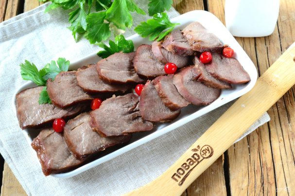 приготовить язык говяжий вкусно в духовке