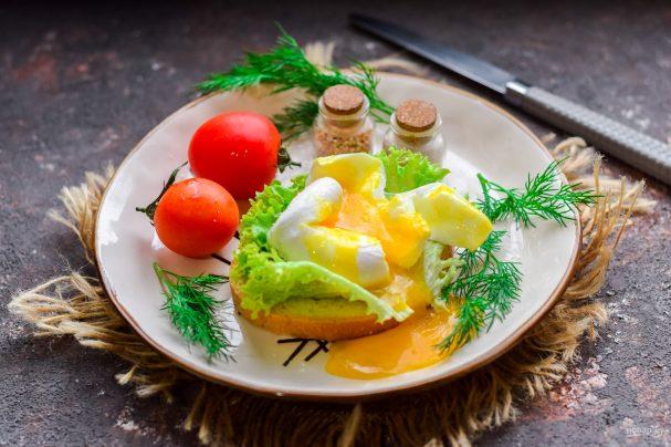 Яйцо пашот с уксусом