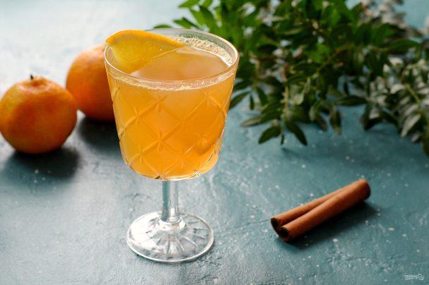 Безалкогольный апельсиновый пунш
