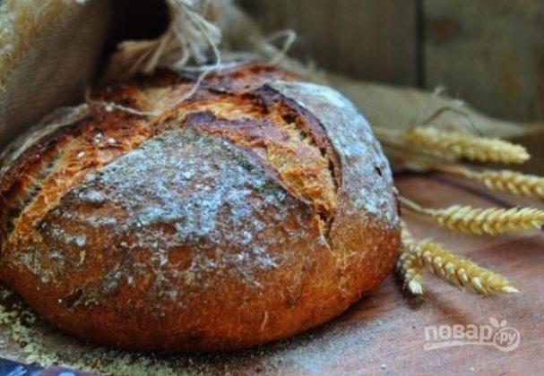 Картофельный хлеб на квасе