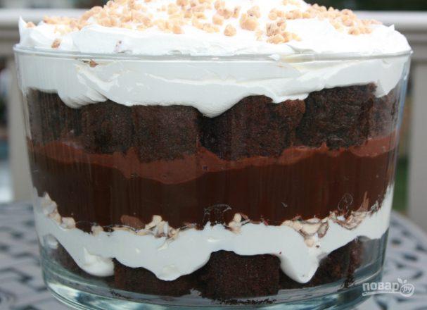 Вкусный легкий тортик