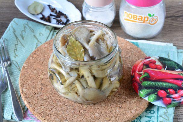 Маринованные грибы с лимонной кислотой на зиму