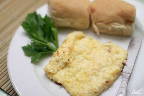 Яичница с сыром в духовке