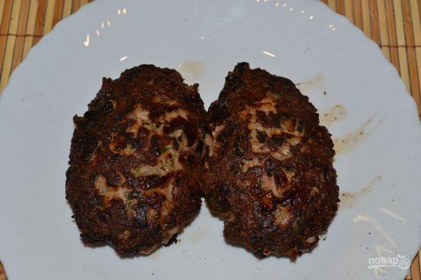 Котлеты из кусочков мяса