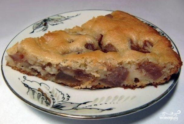 Блюда из сухих яблок