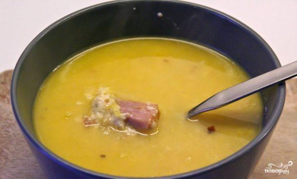 Сырный суп из твердого сыра