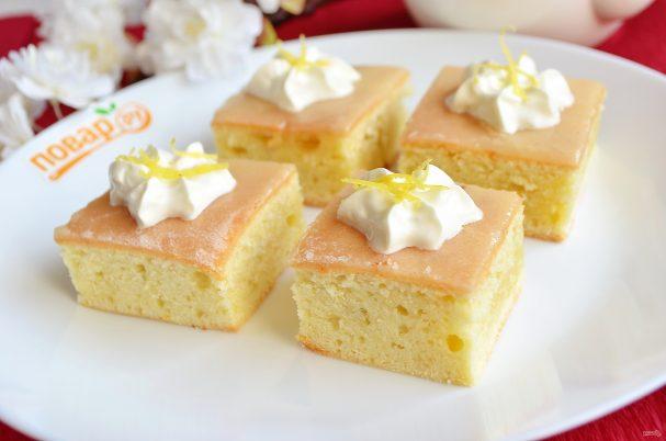 Сливочные имбирные пирожные