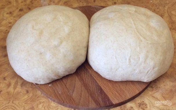 Тесто на закваске для несладкой выпечки