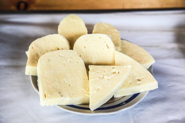 Сыр сулугуни домашний