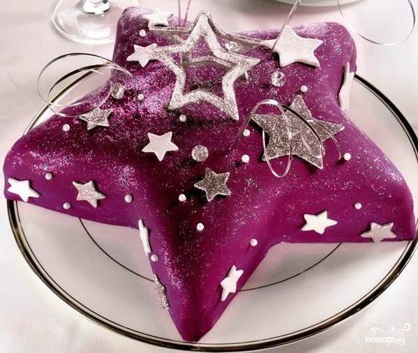 торт звезда фото и рецепт