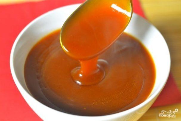 Кисло-сладкий соус для курицы
