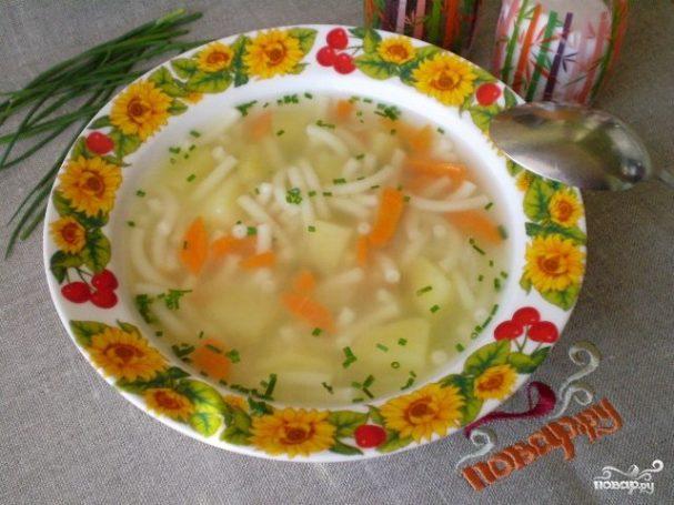 Простой и быстрый суп