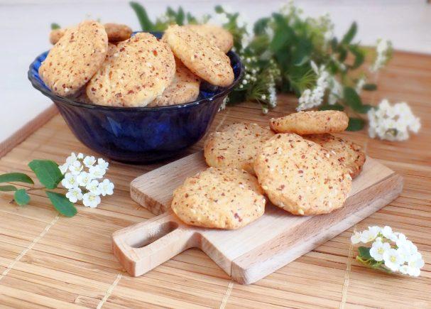 Творожное печенье без сахара
