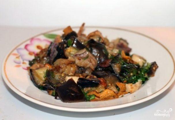 Вегетарианское рагу из баклажанов