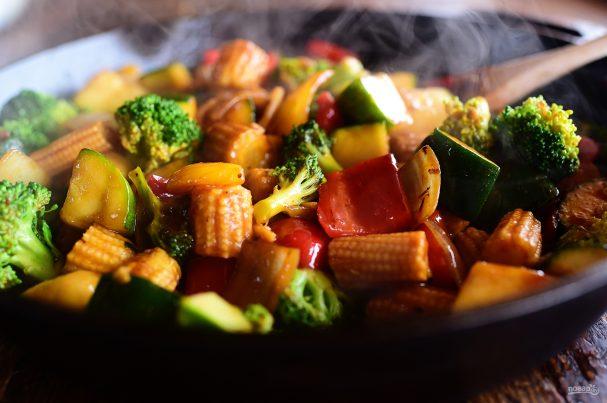 Овощной стир-фрай