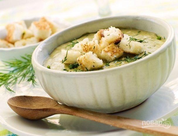 Сырный крем-суп с плавленым сыром