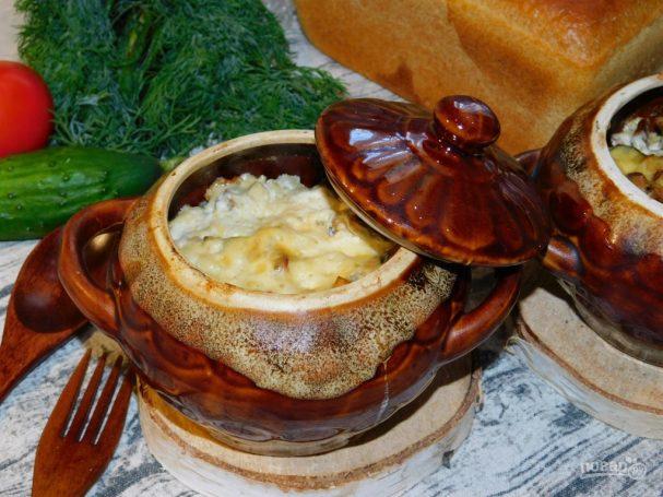 Петровское мясо в горшочках