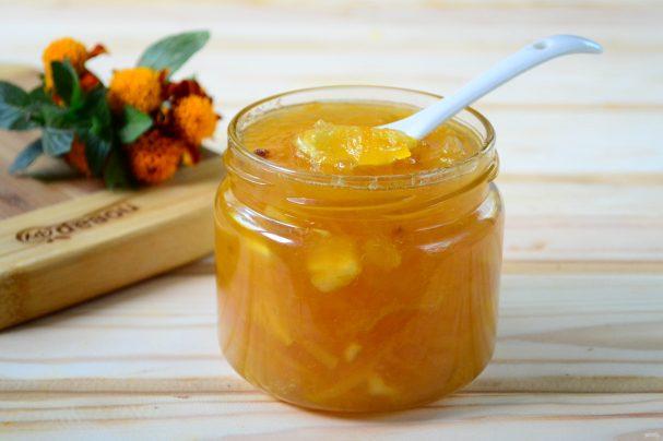 Варенье из имбиря и апельсинов