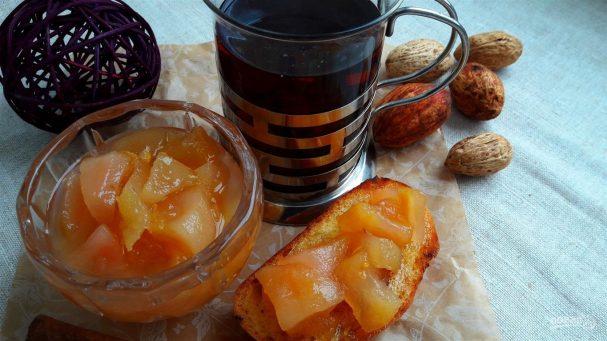 Конфитюр из груш с лимоном, имбирем и розмарином