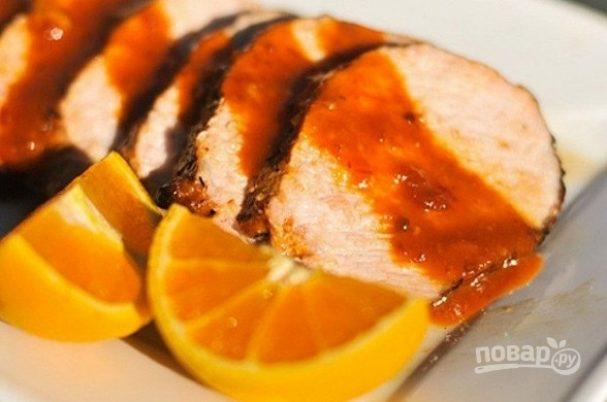 Свинина с апельсином