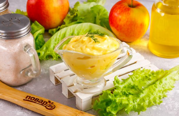 Майонез с яблочным уксусом