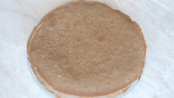 Рецепт блинов из печенки