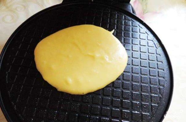 Тесто для вафельницы