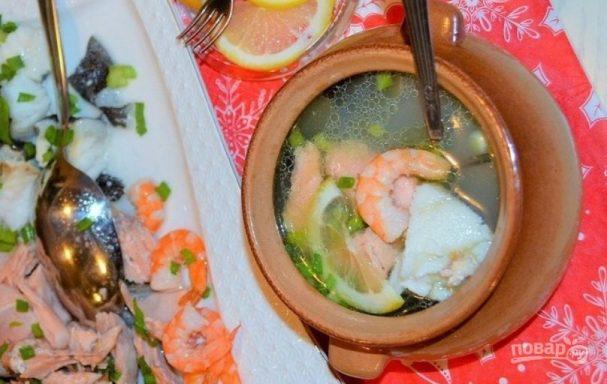 """Суп рыбный """"Праздничный"""""""