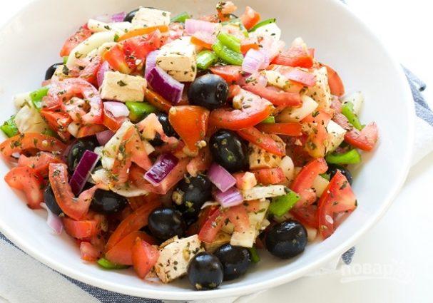 """Салат """"Греческий"""" вегетарианский"""