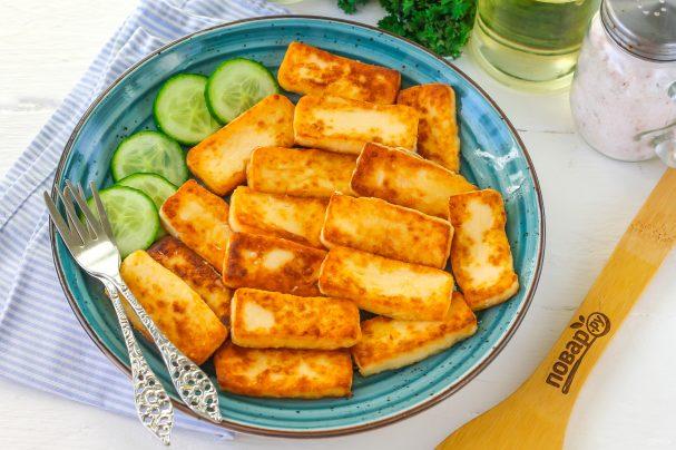 Жареный плавленый сыр