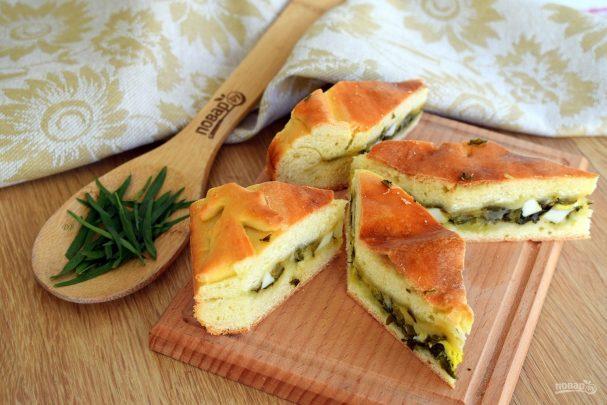 Грузинский пирог с тархуном и сыром