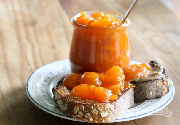 Варенье из абрикосов (целыми дольками)