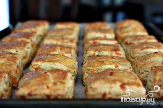 Булочки с сыром и луком