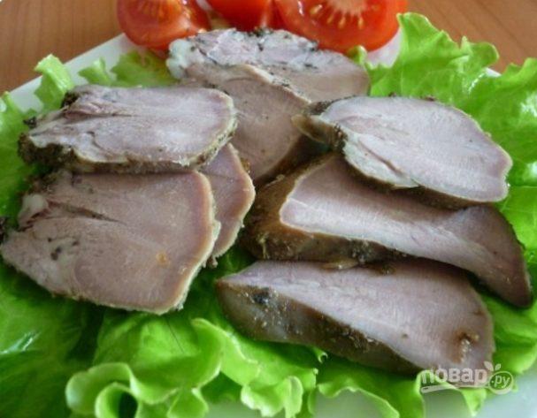 Язык свиной в духовке