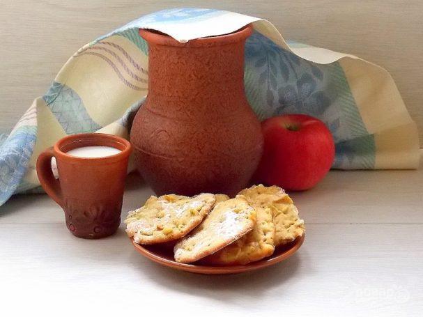 Деревенское яблочное печенье