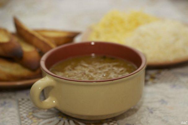 Диетический луковый суп - рецепт с фото на