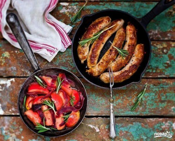 Колбаски из свинины