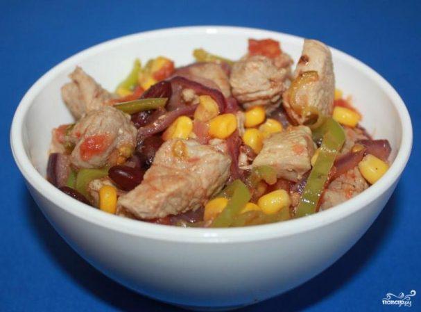 Мясо по-мексикански в мультиварке