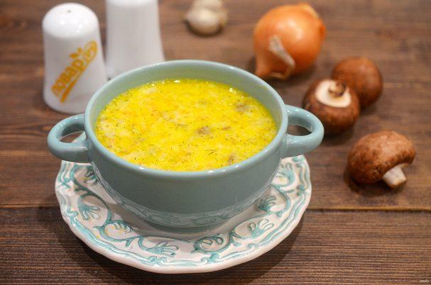 ПП сырный суп