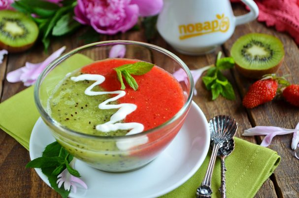 Летний суп с фруктами