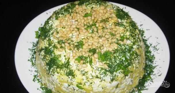 рецепты салатов из солёных огурцов